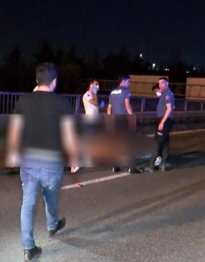 Bariyerlere çarpan sürücü hayatını kaybetti | Video