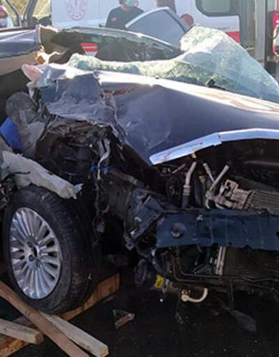 Araç bu hale geldi! Feci kazada ölüler var