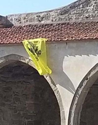 KKTC Başbakanı Tatar: Tuzla Camisi'ne Bizans bayrağı asılması asla kabul edilemez