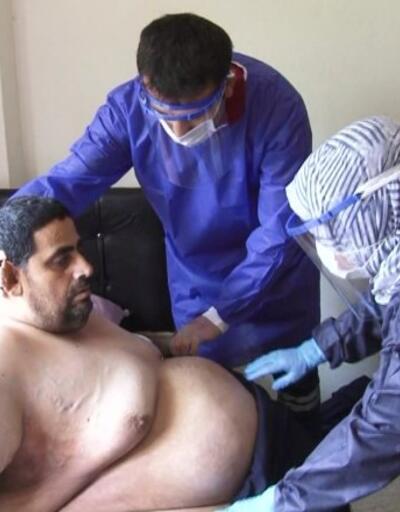 270 kiloluk hastaya yardım eli | Video