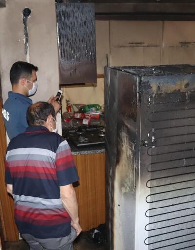 Babasıyla tartıştı, evi ateşe verdi
