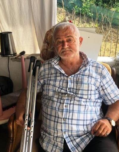 Ayağı kesilen şeker hastası, akülü araç istedi