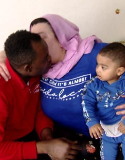 Nijerya'dan Türkiye'ye uzanan aşk  | Video