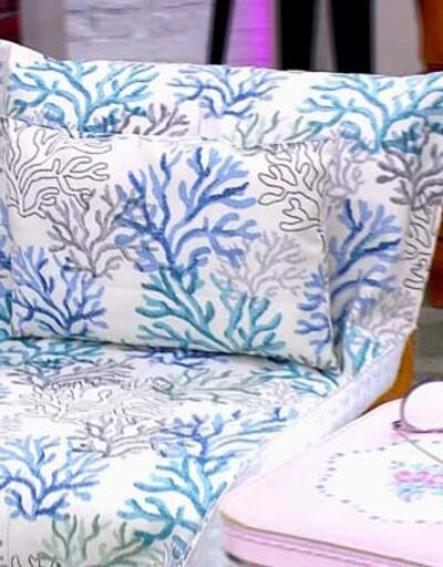 Yastıklı şezlong örtüsü yapımı