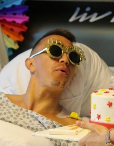 Muslera'ya hastanede doğum günü sürprizi
