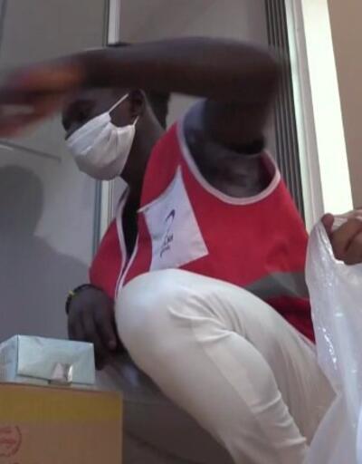 Kızılay'ın Afrikalı gönüllüleri   Video