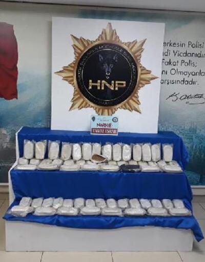 Hatay'da uyuşturucu operasyonu; 2 gözaltı