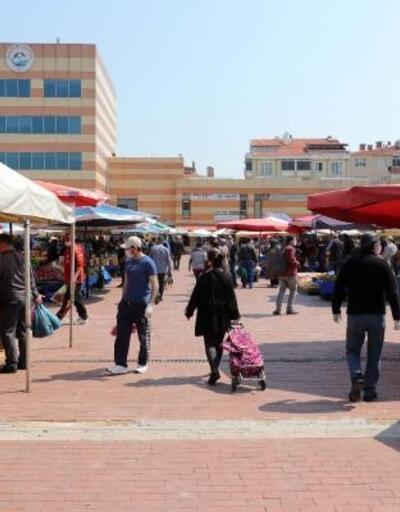 Keşan'da halk pazarına LGS ayarı