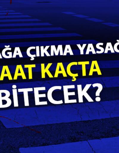 20 Haziran sokağa çıkma yasağı bitti mi? Son dakika sokağa çıkma kısıtlaması haberleri...