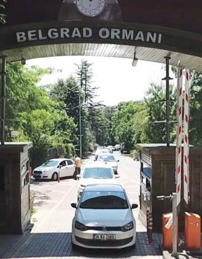 Son dakika: Babalar Günü'nde Belgrad Ormanı'na akın ettiler; uzun araç kuyrukları oluştu