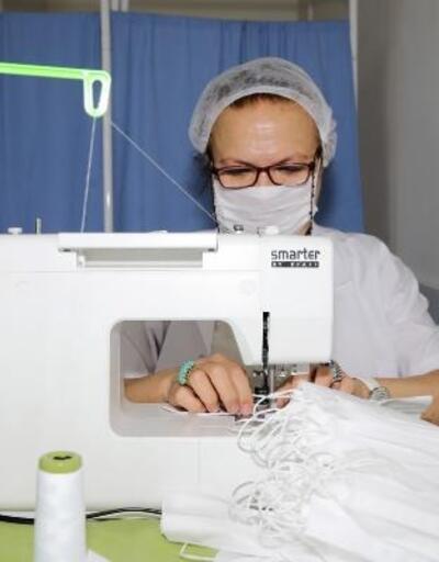 Çankaya'da günlük 2 bin 500 adet maske üretiliyor