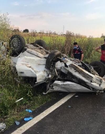 Keşan'da zincirleme trafik kazası: 3 yaralı