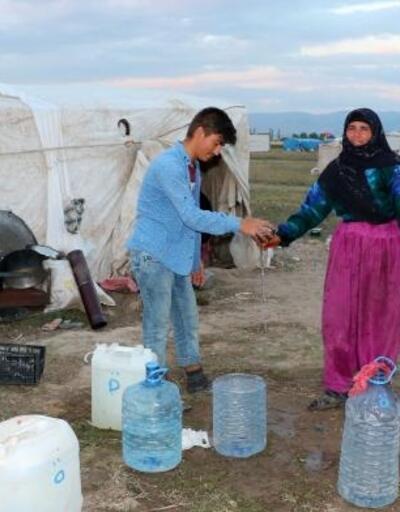 Mevsimlik tarım işçilerinin su sorunu