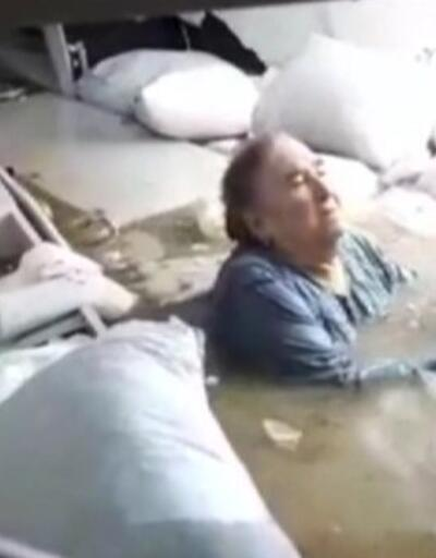 Elife Canatar, kendisini kurtaran polis ile buluştu   Video