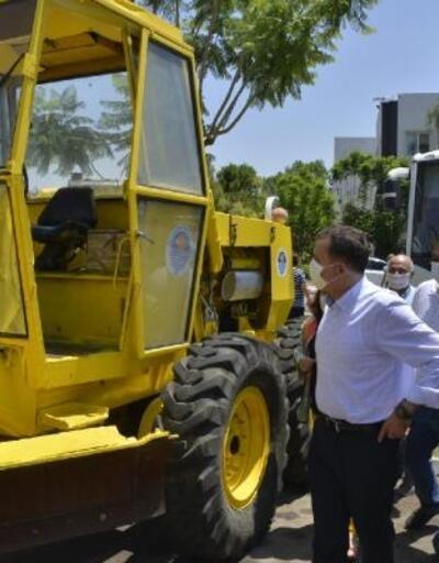 Yenişehir'de hurda araçlar hizmete kazandırılıyor