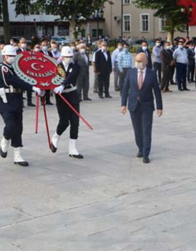 Atatürk'ün Tokat'a gelişinin 101'inci yılı kutlandı