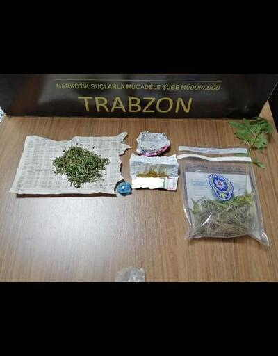 Trabzon'da uyuşturucu operasyonunda 7 gözaltı