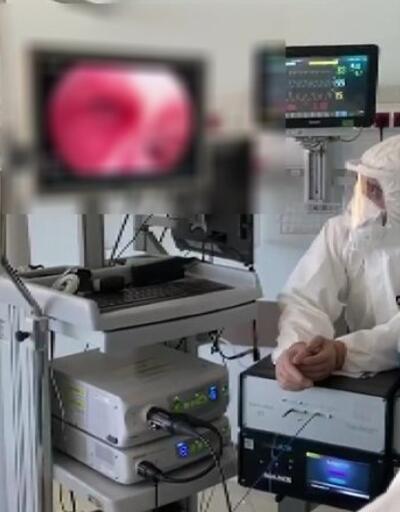 Koronavirüs hastasına ışın tedavisi uygulandı   Video