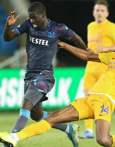 Trabzonspor - Ankaragücü: 1-1