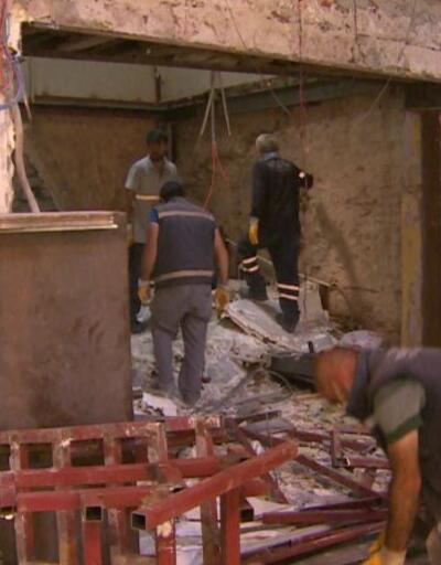 Kapalıçarşı'da iş yerinde yıkım   Video