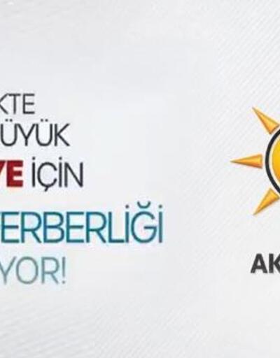 """AK Parti, sosyal medyadan yaptığı videolu paylaşımla """"gönül seferberliği"""" başlattı"""