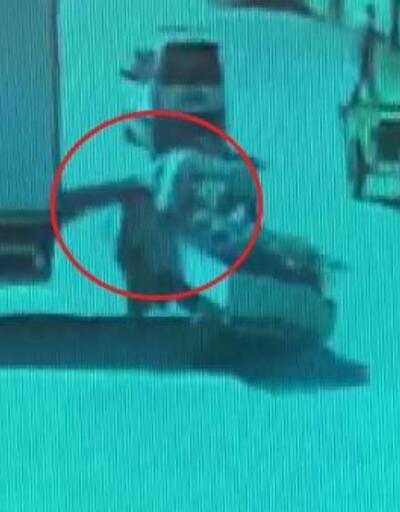 Park halindeki kamyonetin yük indirme liftine çarptı | Video
