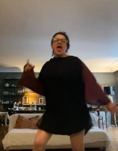 Esra Dermancıoğlu'nun dansı olay oldu