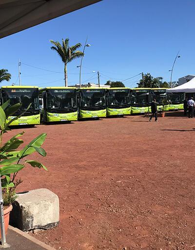 Hint Okyanusu'na otobüs gönderdi