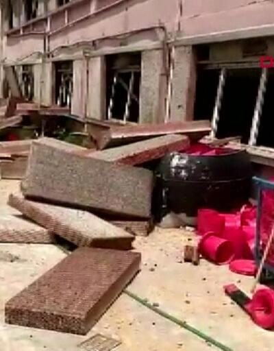 Son dakika: Hendek'teki patlamanın etkisiyle tavuk çiftliği bu hale geldi! | Video