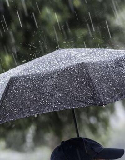 Meteoroloji'den bazı bölgelere sağanak yağış uyarısı