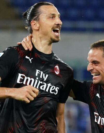 Milan'dan Lazio'ya ağır darbe