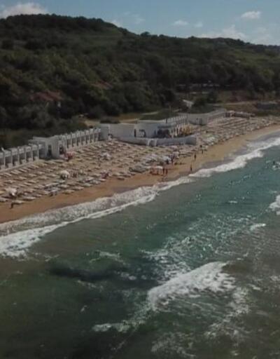 Kilyos'ta ücretli plaj sorunu | Video