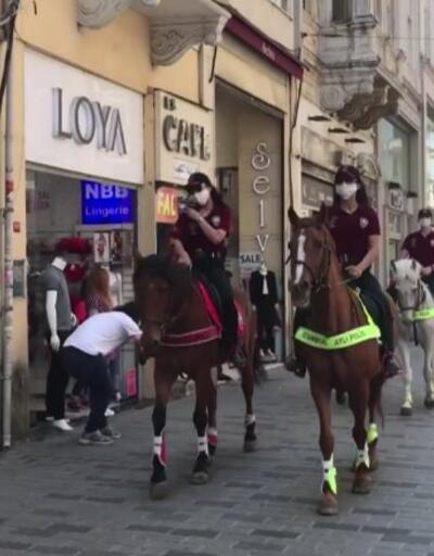 Özel Haber... Meydanlar atlı polislere emanet | Video