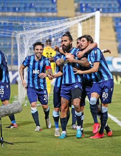 Adana Demirspor 3. sıraya geriledi