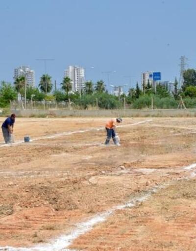 Yenişehir'de kurbanlık satış alanları hazırlanıyor