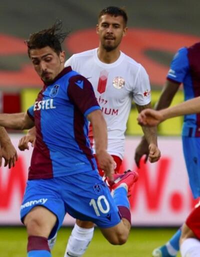 Trabzonspor liderin 4 puan gerisine düştü