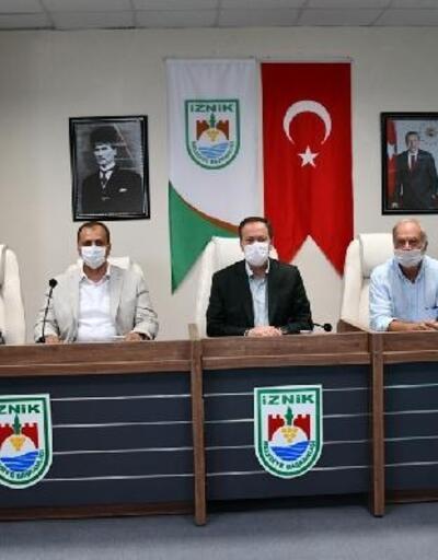 İpekyolu Belediyeler Birliği, İznik'te toplandı