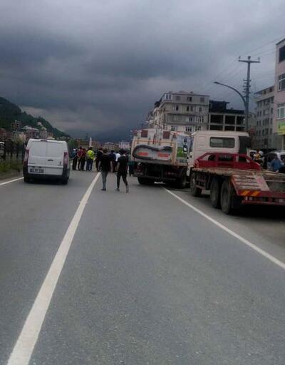 Son dakika... Takla atan otomobilin sürücüsü öldü