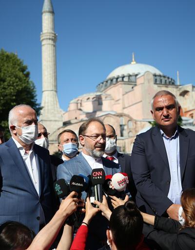 Ali Erbaş'tan 'Ayasofya' açıklaması