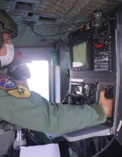 Sahil güvenlik komutanlığı tarafından havadan ve denizden denetim