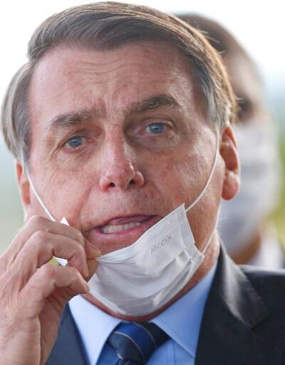 Günler sonra böyle görüntülendi: Tecride dayanamayan Bolsonaro tekrar test yaptıracak