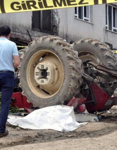 Osmaniye'de traktör devrildi: 1 ölü, 2 yaralı