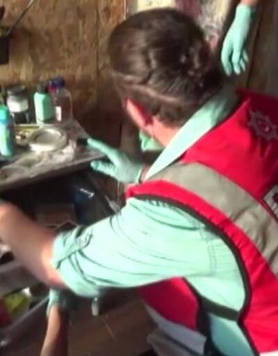 Kargoyla uyuşturucu getirdiler | Video