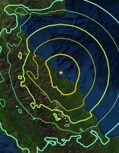 Son dakika... Papua Yeni Gine'de 6,9 büyüklüğünde deprem! Tsunami uyarısı yapıldı