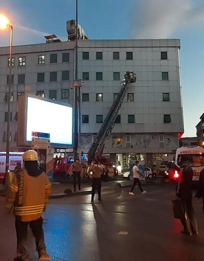 Son dakika haberi... İstanbul'da hastanede yangın | Video