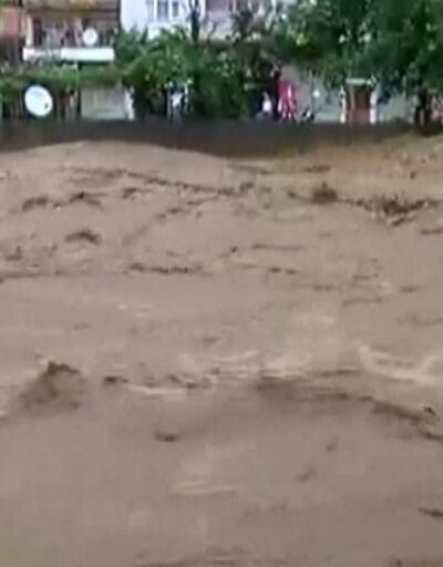 Rize'de son 91 yılın yağış rekoru | Video