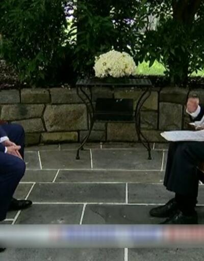 Son dakika... Donald Trump canlı yayında sunucuyla böyle tartıştı | Video