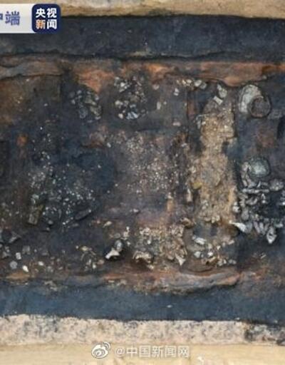 Çin'de yaklaşık 2 bin yıllık mezarlık bulundu