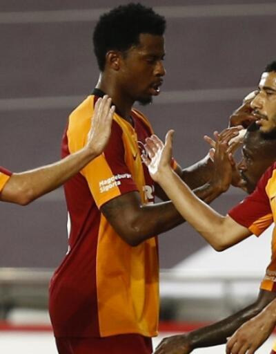 Galatasaray Antalya'da puan kaybetti
