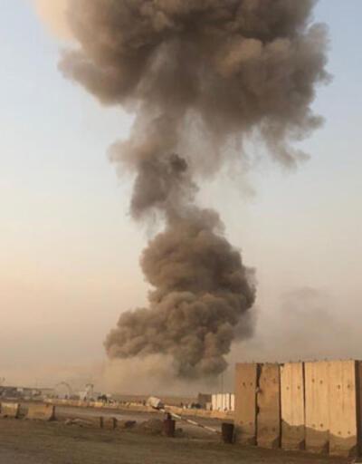 Irak'ta askeri bölgede patlama! Bölgeye giden tüm yollar kapatıldı